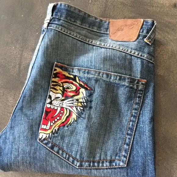 af3bd31e29b Ed Hardy Other - Ed Hardy Vintage Tattoo jeans! 😎